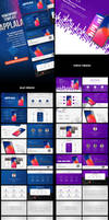 Application Showcase PowerPoint Template by hemalaya