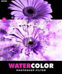 Watercolor Photoshop Filter by hemalaya