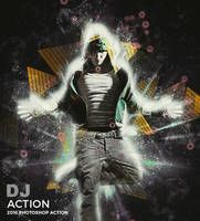 DJ Photoshop Action by hemalaya