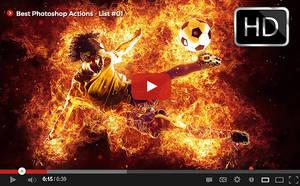 Top Photoshop Actions [ Youtube] List #01 by hemalaya
