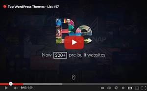 Top WordPress Themes [ Youtube] List #17 by hemalaya