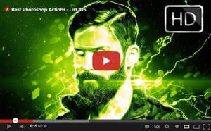 Top Photoshop Actions [ Youtube] List #16 by hemalaya