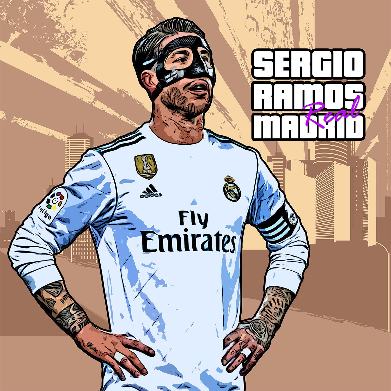 Sergio Ramos GTA by hemalaya