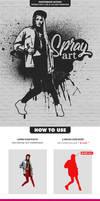 Spray Art Photoshop Action by hemalaya