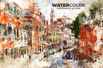 Watercolor Photoshop Action by hemalaya