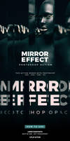 Mirror Effect Photoshop Action by hemalaya