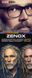 450+ Zenox Premium Photoshop Actions by hemalaya