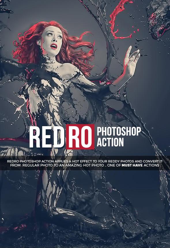Redro Photoshop Action by hemalaya