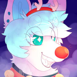 Blue Red Nosed Reindeer :FINISHED YCH: by CaptainPup-pup