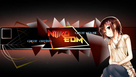 Nitro EDM, Youtube Banner (by HappySquid Music) by Myyr-feylixx