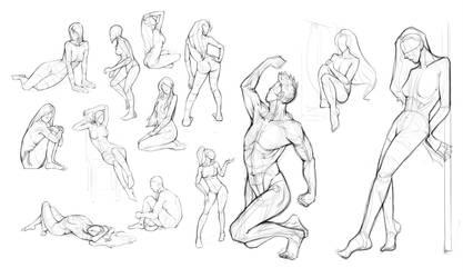 Anatomy Practice. by keshanlam