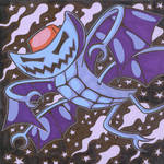 Art Trade: Deathpane by AngryMaxFuryStreet