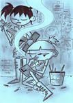 Art Trade: Tina and Lulu by AngryMaxFuryStreet