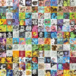 I Drew 144 Art Trades in Under a Year by AngryMaxFuryStreet