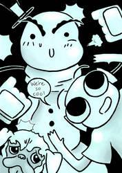 Webcomic Review: Dan the Snowman by AngryMaxFuryStreet