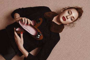 shoe girl by steve--rogers