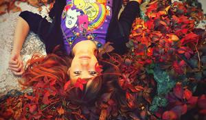 Redhead Autumn by Rock-Lady