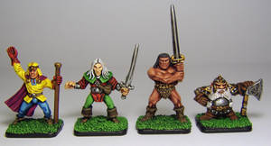 HERO QUEST Characters by FraterSINISTER