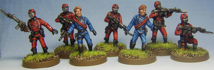 G.I. Joe Crimson Guards by FraterSINISTER