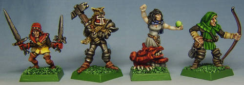 HEROES for DUNGEONQUEST by FraterSINISTER
