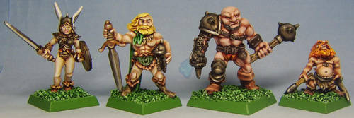 HEROES for DUNGEONQUEST III by FraterSINISTER