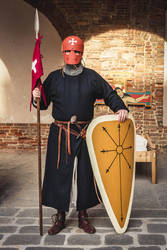 Knight Hospitaller (1160-1219) by FraterSINISTER