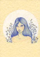 Blue fairy by melyanna