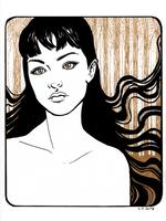Inktober | Day 26 | Vampire by melyanna