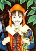 Happy Kender by melyanna
