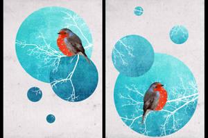 Christmas postcards by IngaVinaude