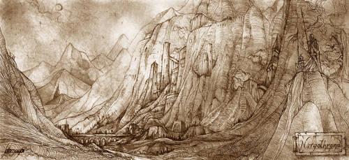 Nargothrond by Feliche