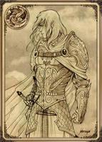 Rhaegar Targaryen by Feliche