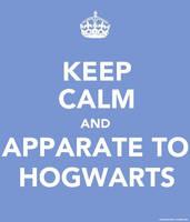 Keep Calm: Hogwarts by berquinn