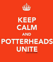 Keep Calm: Potterheads by berquinn