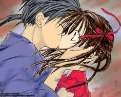 Full Moon Kiss by tenshi-caramel