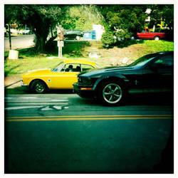 Yellow Car by athena41398