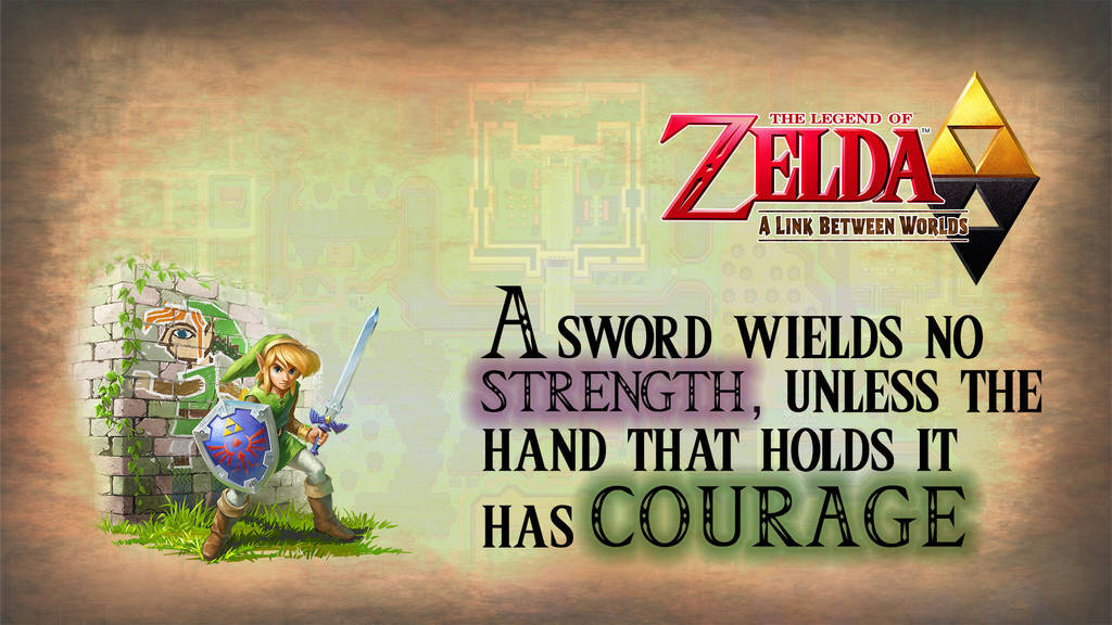 Zelda A Link Between Worlds Wallpaper By Benhardly On Deviantart