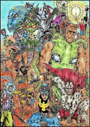My ComicsGate Tribute (2018) ! by Iam100