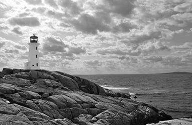 Lighthouse Scene by PaulMcKinnon
