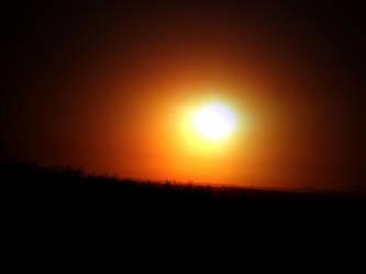 sunset by helloomydear