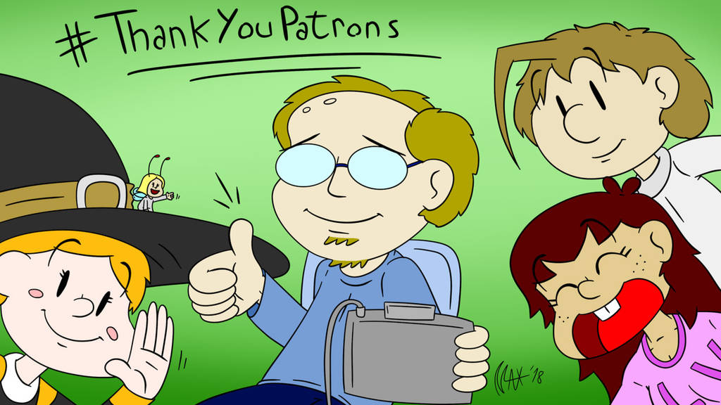 Thank You Patrons by megawackymax