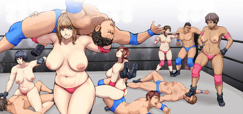 Battle of Sexes by MAKIYA-makiya