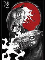 | blood moon cavalry | by LeSoldatMort