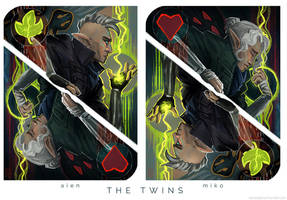 | THE LAVELLAN TWINS | by LeSoldatMort