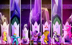 MLP - Princesses of friendship by seer45