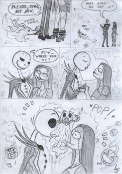 Nightmare before X-mas Comic by LadyScale