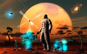 Rocket Man .2. by MasPix