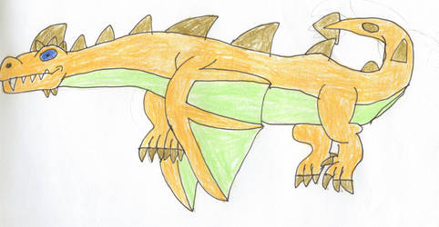Yellow Dragon by trexking45