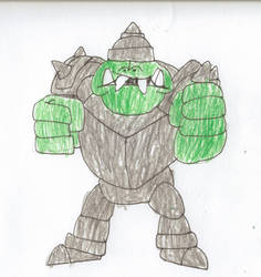 Armored Gnorc by trexking45