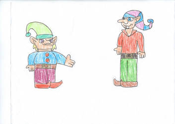 Santa's elves (6) by trexking45